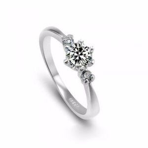 Jewelry - cubic zirconia silver ring